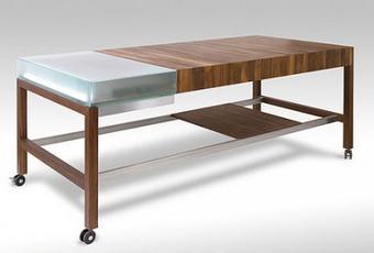 funkc Функциональные стол и прозрачный стул