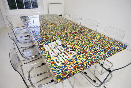 legotable Стол конференция для творческих офисов