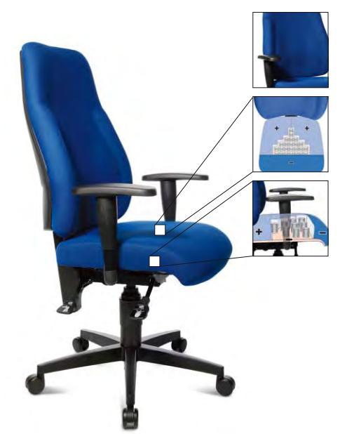 stulj Офисные стулья Топстар