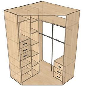 1shkaf Мебель по индивидуальным проектам