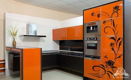 2kux-1 Современные кухни на заказ в интересном исполнении.