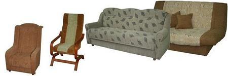 1rem Перетяжка мебели