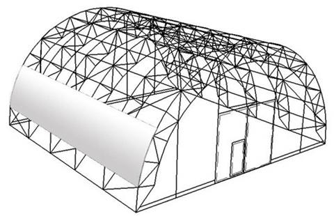 2angar Особенности сооружения арочных ангаров