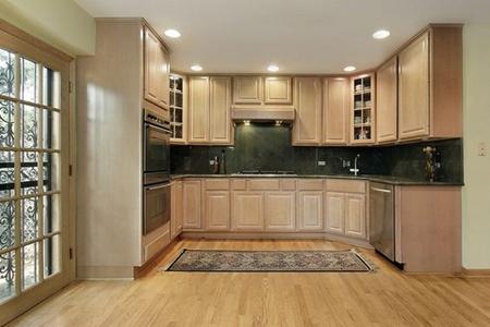 Угловые кухни. Купить угловую кухню для маленького офиса