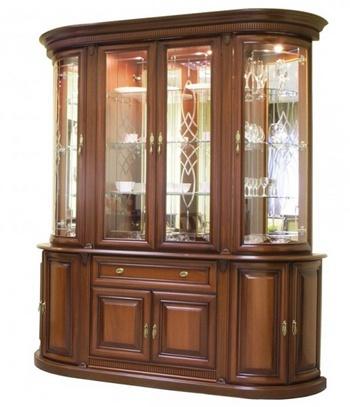 1vitr Шкаф-витрина для гостиной
