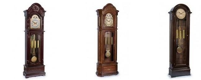1chsi Напольные часы в интерьере