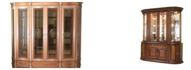 1vitr Стеклянные шкафы-витрины
