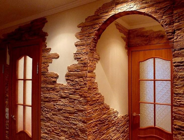 2ddf Искусственный декоративный камень